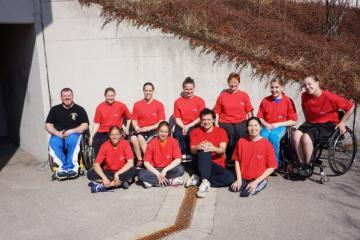 Bayern: Landeskader für DM Rollstuhlbasketball nominiert - Foto: B. Ryklin