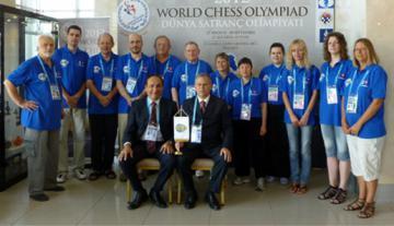 FIDE Schach Olympiade 2012 - Foto: (c) DGS-Archiv