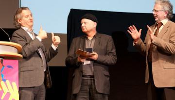 Karl-Werner Broska mit Karl-Wacker-Ehrenplakette ausgezeichnet - Foto: (c) DGB / DGS