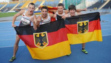 Gehörlosen Leichtathletik: Deutscher Nachwuchs badet in Medaillen - Foto: (c) Sparte Leichtathletik