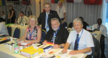 43. Kongress des Internationalen Committee of Sport for the Deaf (ICSD) - Foto: (c) Karl-Werner Broska, DGS-Präsidend