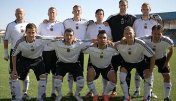 Deaflympics 2013:  Qualifikationsspiel der deutschen Gehörlosen-Fußballnationalmannschaft - Foto: (c) DGS