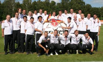 Gehörlosen-Fußball: Europameistschaft ist eröffnet - Foto: (c) Peter Fiebiger, Werner v.d.Ruhren / DGS