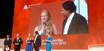 Gehörlose: Heike Albrecht Juniorsportlerin des Jahres 2012 - Foto: (c) DGS Archiv