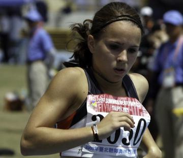 Juniorsportlerehrung 2011: Jessica Urbanski im Gehörlosensport - Foto: (c) DGS-Archiv / Anton Schneid