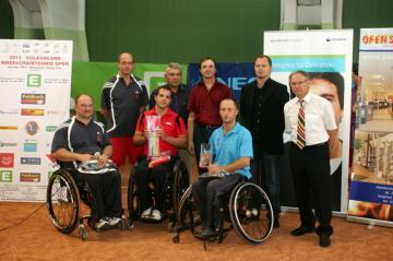 Rollstuhltennis: Thomas Mossier gewann die Vulkanland Wheelchairtennis Open 2011 - Foto: (c) ÖBSV