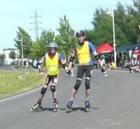 Deutsche Meisterschaft im Speedskaten für blinde und andere behinderte Sportler - Foto: (c) Volker Springhart