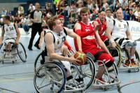 Deutsche Rollstuhlbasketballer präsentieren sich in guter Frühform - Foto: (c) Andreas Joneck