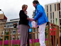 Paralympics: Deutsche Paralympics im Paralympischen Dorf begrüßt - Foto: (c) DBS